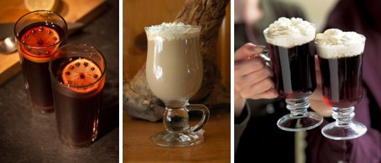 winter wedding hot beverages  | ... Winter wedding drinks. Delicious warming arrival drinks to serve your