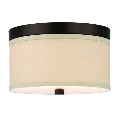 forecast lighting modern flushmount lights in sorrel bronze finish f131720 destination lighting