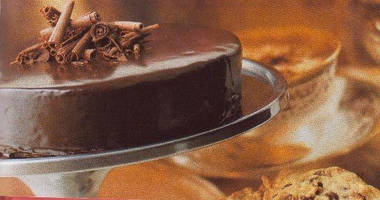 Čokoládový dort / Chocolate cake