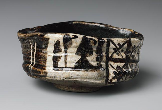 Oribe Ware(Black Oribe),17th century,Japan