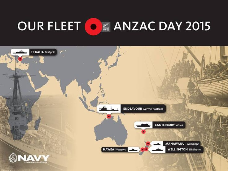 NZ Navy for ANZAC Day