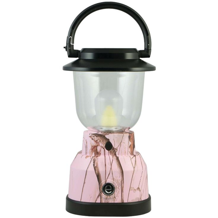Realtree 350-lumen Plus Series Realtree Camouflage Lantern (4 D Batteries; Pink)