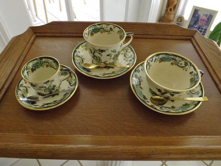 Difference Between Coffee Tea Cups Mason S Mandalay Chartreuse