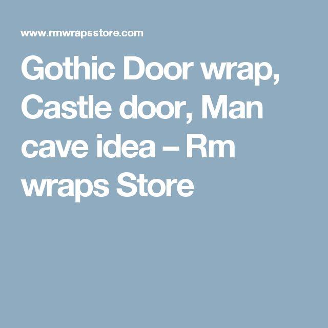Gothic Door wrap, Castle door, Man cave idea – Rm wraps Store
