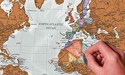 Mapa del Mundo con rasca-rasca. http://www.milideaspararegalar.es/producto/scratch-el-mundo-rasca-los-lugares-a-los-que-viajes/