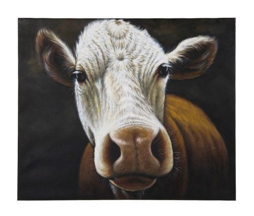 Kare 100 x 120 cm Cow Oil Painting by KARE Design, http://www.amazon.co.uk/dp/B007XWMJNY/ref=cm_sw_r_pi_dp_mUpNsb1T84KNP