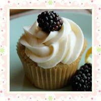 Gluten-free, Vegan Lemon Blackberry Cupcakes