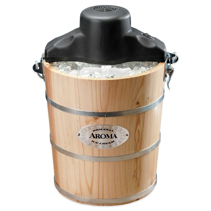 Aroma® 6 qt. Traditional Ice Cream Maker