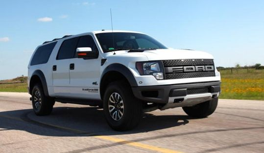 2017 Ford Excursion Design