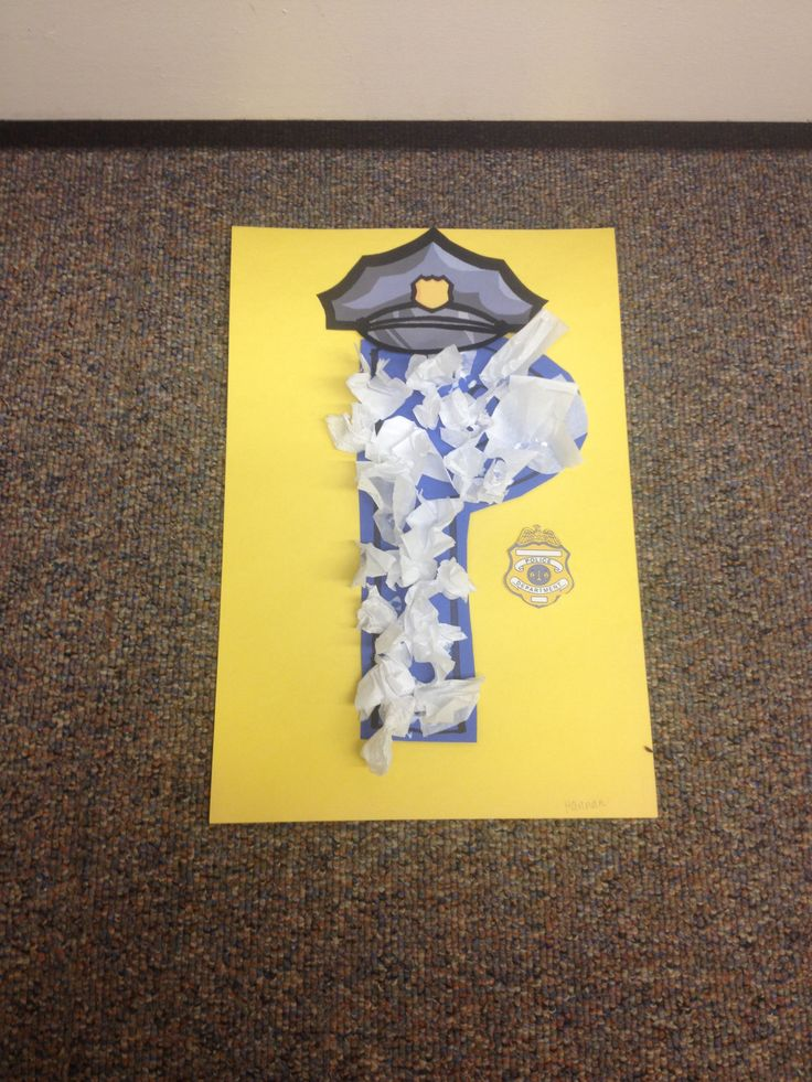 17 best ideas about police officer crafts on pinterest for Letter p preschool crafts