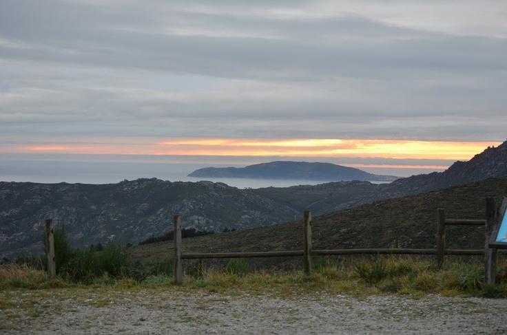 Alto de Paxareira y Finisterre, Galicia, Spain