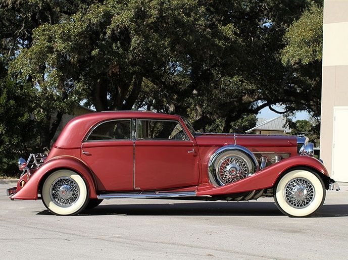 1931 Duesenberg owned by the 'Queen of Diamonds'
