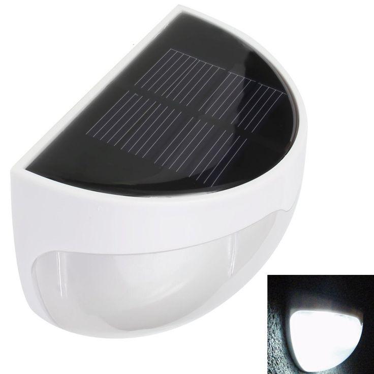 Cheap l mpara de control de la luz 6 led de la energ a for Iluminacion solar de jardin