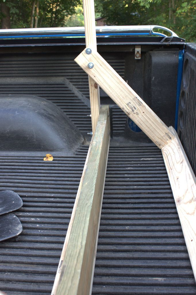 Build Your Own Low Cost Pickup Truck Canoe Rack in 2020