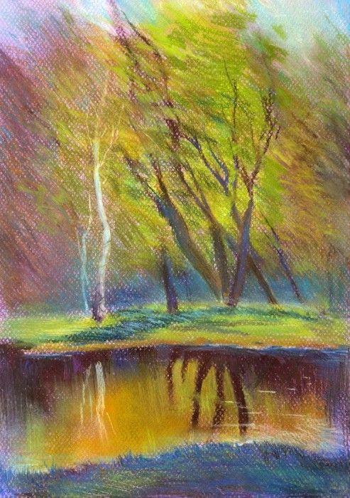 Trees from $34.99  | www.wallartprints.com.au #ImpressionismArt