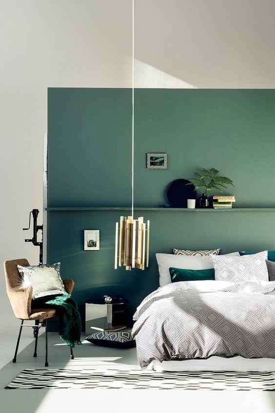 green bedroom design idea 16
