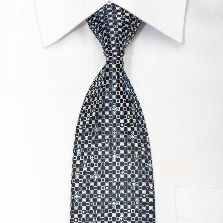 912 best Rhinestone Silk Neckties images on Pinterest
