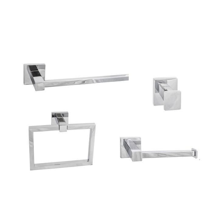 Sure-Loc Vlora Modern 4-piece Bathroom Accessory Set (Vlora