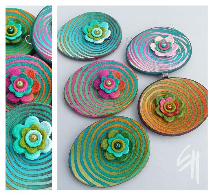 """Art course """"Pendant Flower"""""""