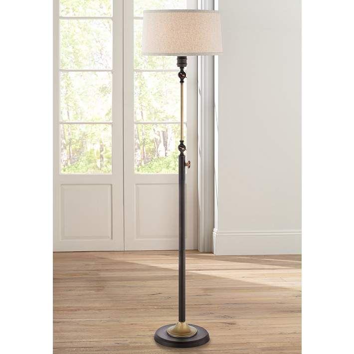 Quoizel Lyndhurst Oil Rubbed Bronze Floor Lamp - #7V066   Lamps Plus