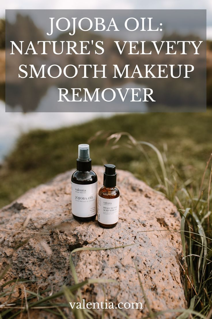 Natural Cleansing With Jojoba Oil in 2020 Natural makeup