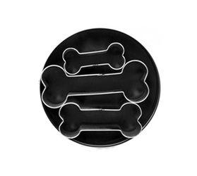 3 Piece Dog Bone Cookie Cutter Set by Fox Run Craftsmen