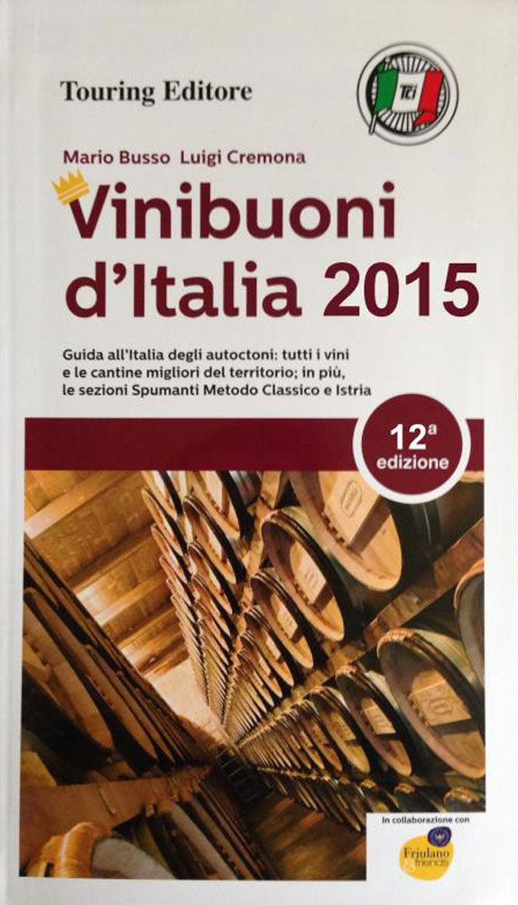 Vini Buoni d'Italia is the Italian wine guide issued by Touring Club dedicated to the wines produced from Italian indigenous grapes.