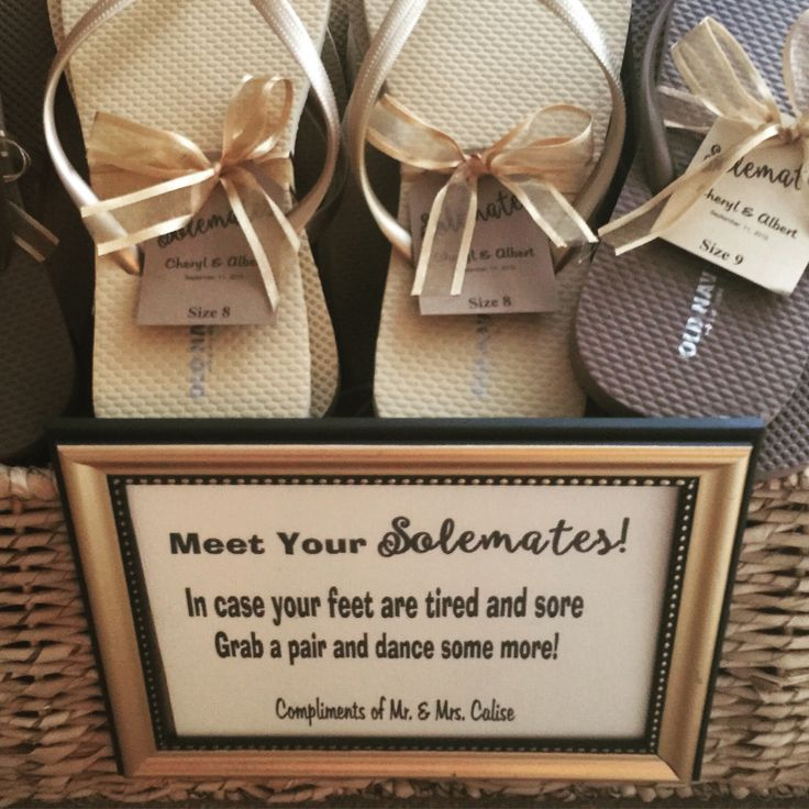 Dancing shoe basket on the sides of the dance floor! For all those tired feet! No excuses everyone must dance! Flip flops