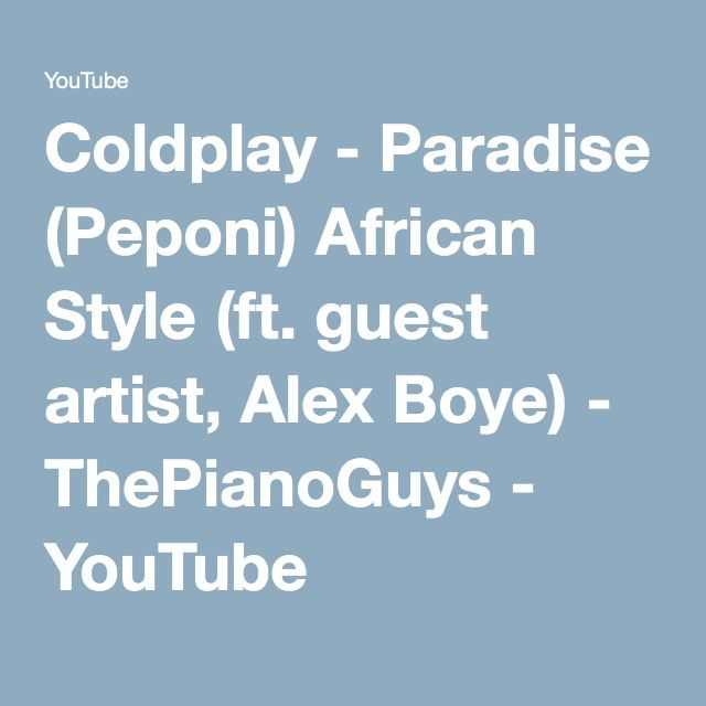 Coldplay - Paradise Lyrics | MetroLyrics