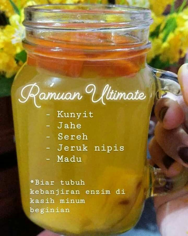 Pin Oleh Elies Ristiani Di Herbal Obat Alami Resep Diet Diet Detoks