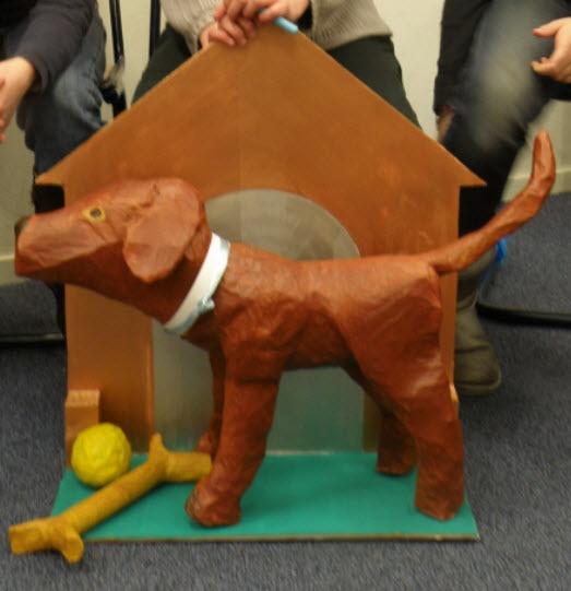 Sint surprise hond