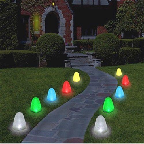 Best 25+ Christmas Pathway Lights Ideas On Pinterest