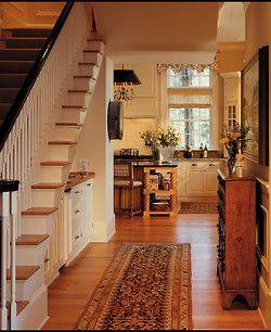 georgianadesign:    The Preserve, Kiawah Island. Buffington Homes South Carolina.: Kitchens, Idea, Hallways, Country Design, Country Home, Bar Area, Under Stairs, Stairs Design, South Carolina