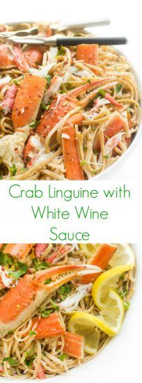 crab-linguine-in-a-white-wine-garlic-sauce-a-fast-pasta-recipe
