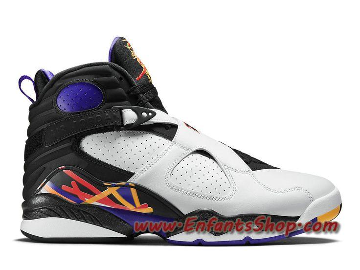 Air Jordan 8 Retro Chaussures Basket Jordan Pas Cher Pour Homme Three-Peat  305381-