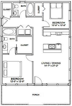 Take out back bedroom push kitchen back. PDF house plans, garage plans, & shed plans.