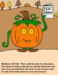 Pumpkin Coloring Pages for Sunday school
