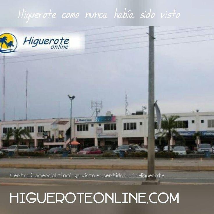 Uno de los centros comerciales más concurridos... Centro Comercial Flamingo.. automercado farmacia licores. Pizzeria panadería ferretería trajes de baños banco banesco cajero.. Etc  #centrocomercial  ##Higuerote #Barlovento #Miranda #Venezuela #turismo #comprasenhiguerote