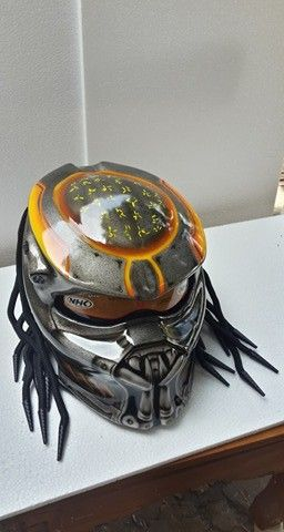 Cellos Predator Helmet Custom Bandung | benmustafaz_80Shop - on ArtFire