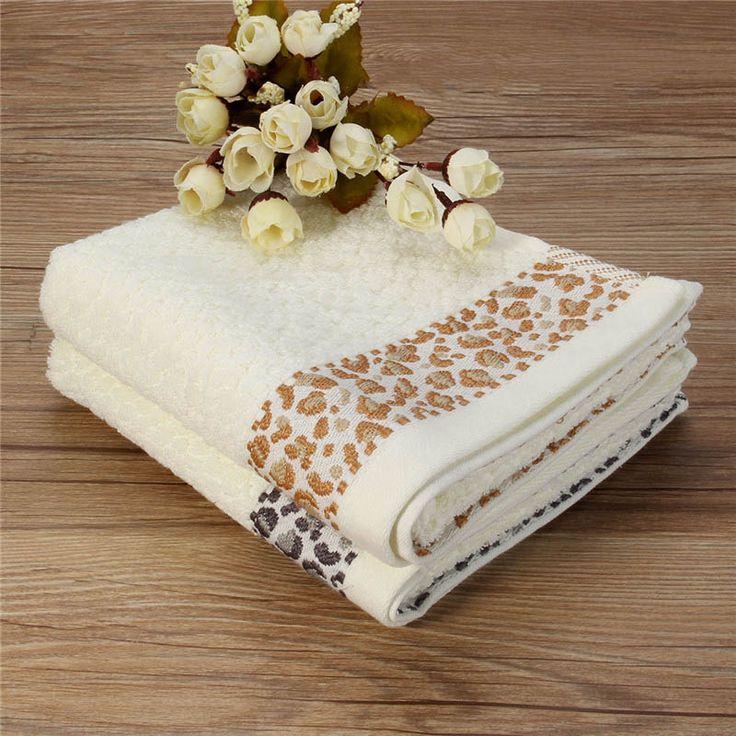 2016 33 x 74 см 100% хлопок ванная комната банное полотенце косметолог леопардовым принтом пляжное полотенце для взрослых тренажерный зал спорт пляжное полотенце