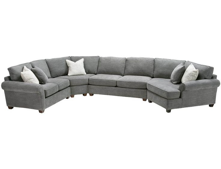 Slumberland | Pathway Collection   4 Pc Right Cuddler Sectional