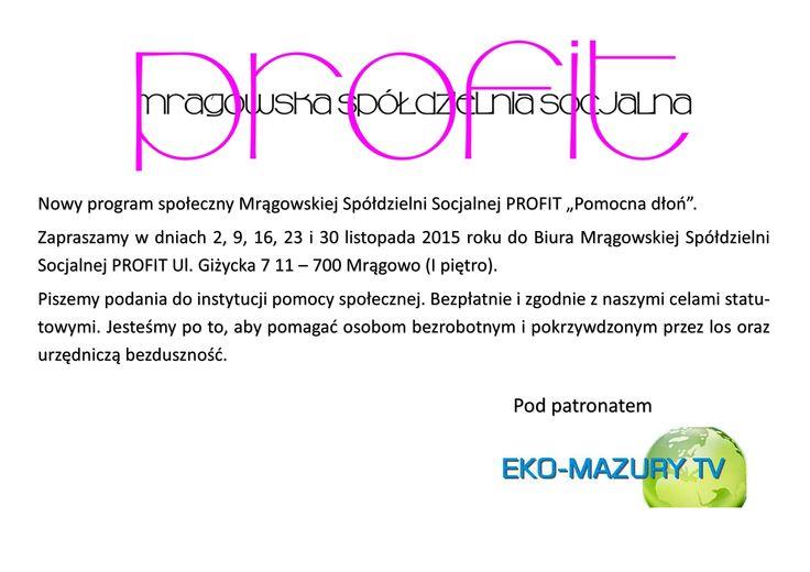 Masz problem z uzyskaniem środków z pomocy społecznej – pomożemy! :: Dziennik Eko-MazuryTV