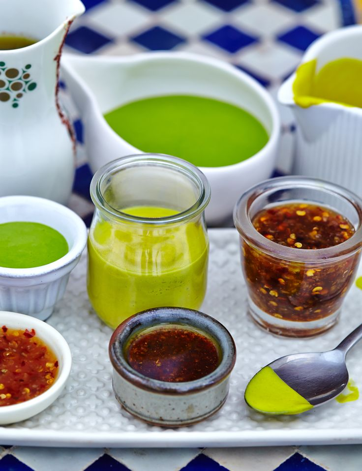 Dips and dressings, we love them!