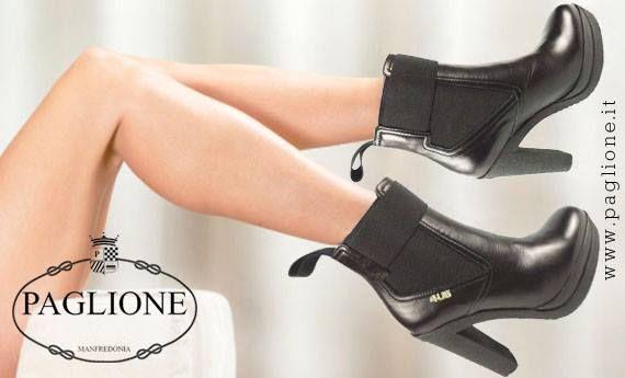 IN #SUPERSALDO i bellissimi #tronchetti in #pelle nera con inserti di #tessuto elastico!!! Uno spettacolo tutto #MADEINITALY by #CesarePaciotti4US!!!  Scopri tutta la #collezione in #Saldo #online #Buy #Best #Shoes #Shopping #Man #Woman #Sale