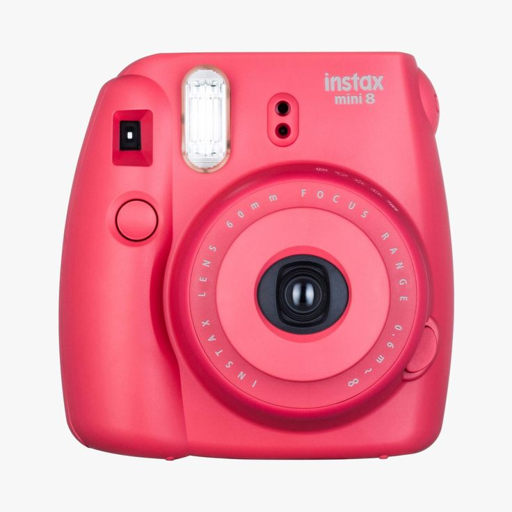Appareil photo, Instax mini 8, framboise - FujiFilm - Find this product on Bon Marché website - Le Bon Marché Rive Gauche
