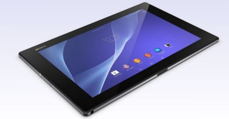 Sony Xperia Z2 Tablet Is Ultra-Thin and Waterproof