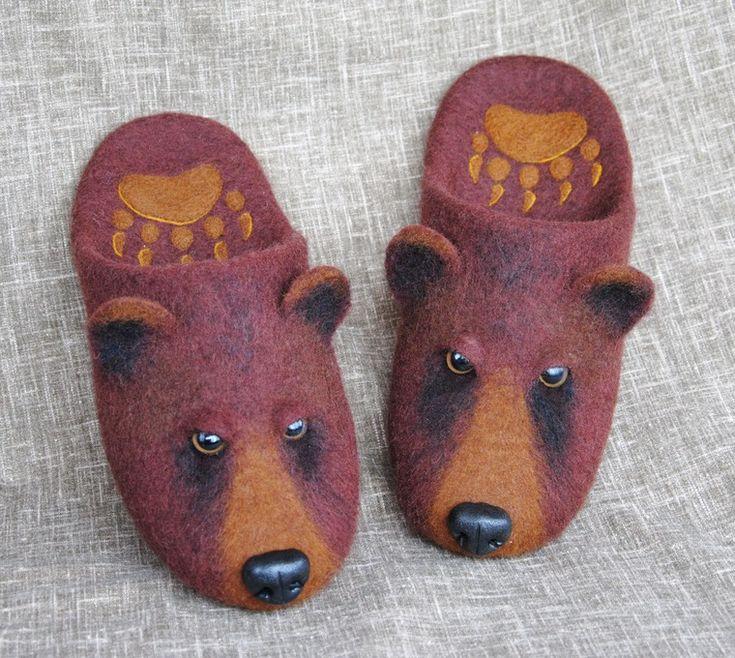 Ольга Демьянова bear slippers