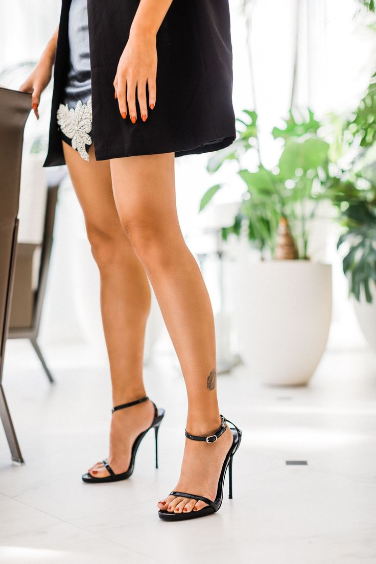 Black Simple Ankle Strap Heels // Notjessfashion.com // Black Dressy Heels, Black Sandals, night out outfit, pretty little thing, affordable heels, jessica wang, fashion blogger, new york fashion blogger