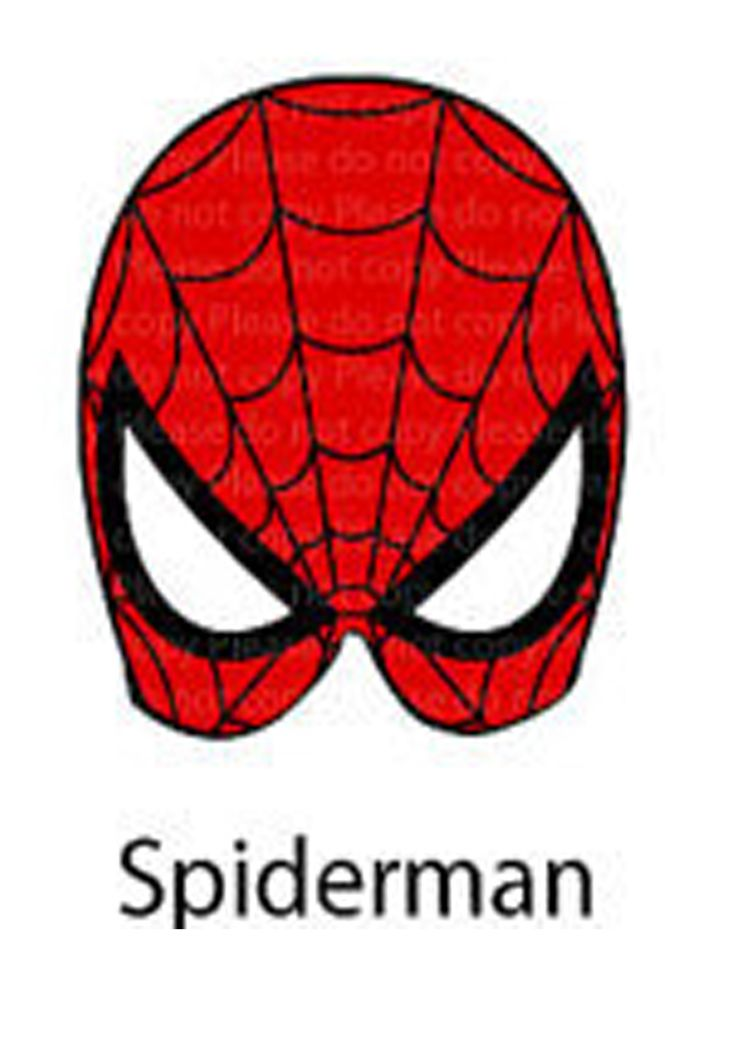 Oltre 25 fantastiche idee su maschere di supereroi su for Spiderman da colorare e stampare