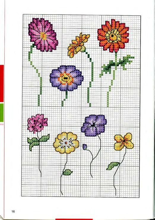 Gallery.ru / Foto # 85 - Croce ricamare fiori, mazzi di fiori, alberi - tymannost